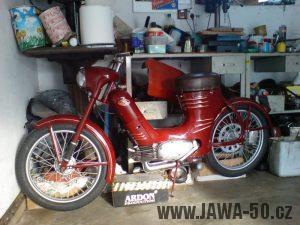 Renovace Jawa 550 Pionýr z roku 1958