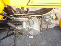Vývozní (exportní) motocykl Jawa 50 typ 23 Golden Sport - motor a pojistka