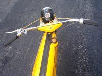 Vývozní (exportní) motocykl Jawa 50 typ 23 Golden Sport - řídítka s přepínačem Aprilia DIP 58