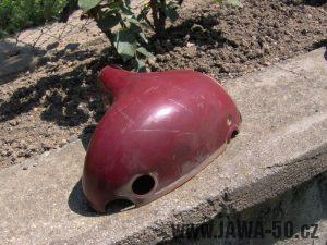 Jawa 550 Pionýr z roku 1958 - levá polovina masky předního světlometu