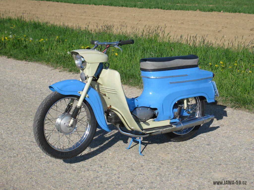 Motocykl Jawa 50 typ 05 z roku 1962