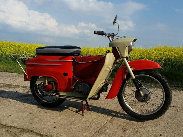 Motocykl Jawa 50 typ 20 Pionýr z roku 1968 (první výrobní etapa)