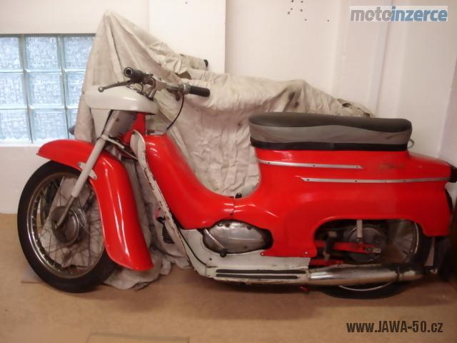 Motocykl Jawa 50 typ 20 Pionýr z roku 1974 (třetí etapa)