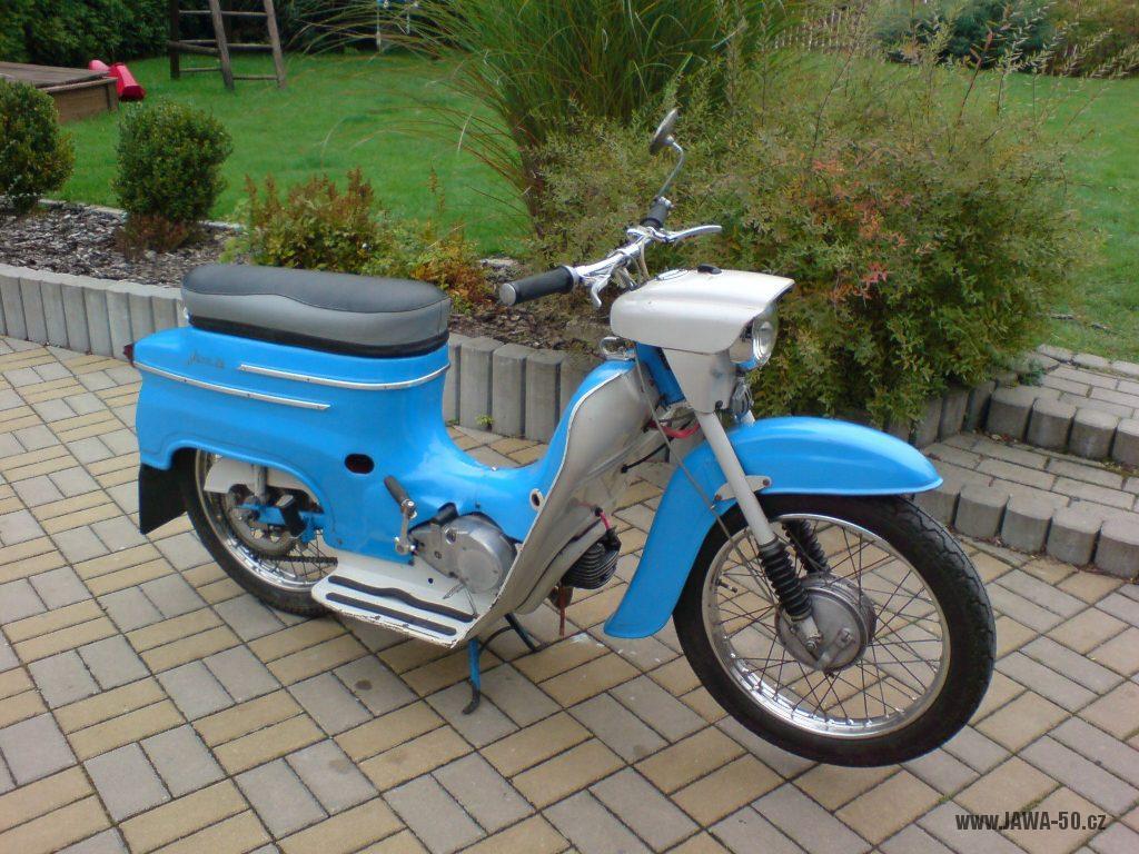 Motocykl Jawa 50 typ 20 Pionýr