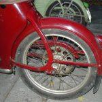 Staré provedení zadního blatníku