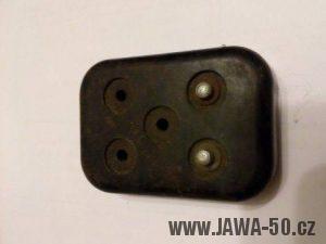 Kontaktnice (víčko) baterií pro klakson Jawa 550 - druhá varianta