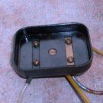 Kryt baterií (kontaktnice) Jawa 550