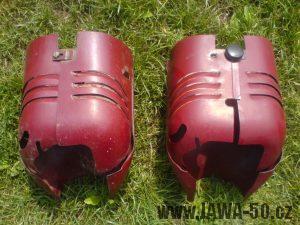 Poslední provedení prsíček Jawa 550, Jawa 555