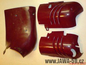 Poslední provedení prsíček - Jawa 550