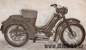 První slovenský prototyp Jawy 555