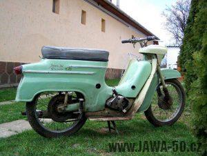 Jawa 50 Super M20 - vývozní provedení pro Maďarsko