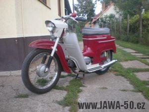 Jawa Ideal 05 - vývozní provedení do Maďarska