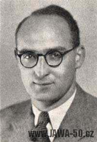 JUDr. Jaroslav Frei - ředitel Jawa