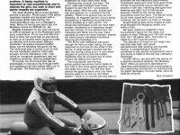 Anglický tisk: Recenze vývozní Jawy 23 Mustang s kapotáží