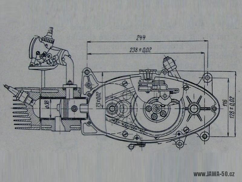 Motocykl Jawa 50 Typ 05 Pionyr Jawa 50 Pionyr