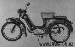 Pražský prototyp motocyklu Jawa 555