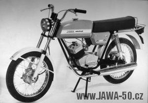 Prototyp Motocyklu Jawa VM-238 Mistral
