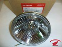 """Novodobá optická vložka (žárovka) sealed beam 4 1/4"""" 6V@15/15W pro Jawa 23A Golden Sport"""