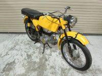 Motocykl Jawa 50 typ 23A Golden Sport (první provedení) se zadním světlem Hella SBKR30