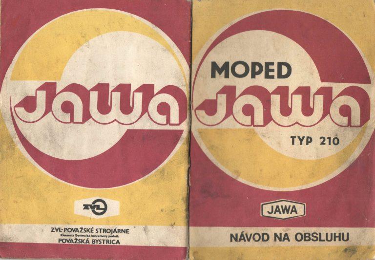 Moped Jawa M210 Babetta - návod k obsluze