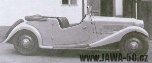 Automobil Jawa 700