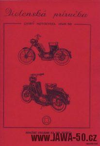 Dílenská příručka k motocyklu Jawa 550 Pionýr