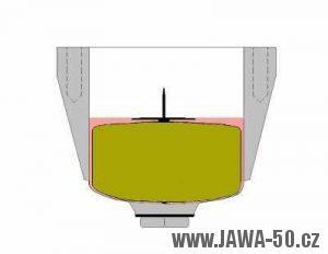 Správná hladina paliva v plovákové komoře karburátoru Jikov 2917 PSb