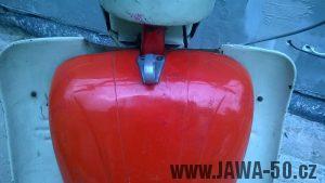 Jawa 05 export do Kanady a USA - rozšířený kryt