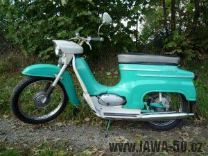 Jawa 50 typ 20 Pionýr z roku 1972