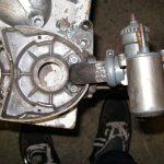 Upravený motor Jawa 05 s rotačním šoupátkem - s karburátorem