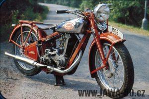 Motocykl Jawa 350 OHV Speciál