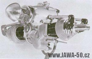 Letecký motor Jawa