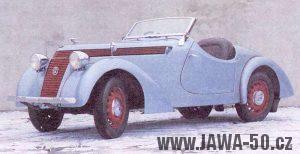 Automobil Jawa Minor I - kabriolet (1937)