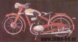Motocykl Jawa 250 Duplex Block