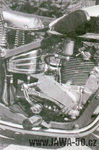 Motor motocyklu Jawa 175 OHV