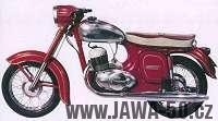 Motocykl Jawa 250 typ 559/03 s automatickou odstředivou spojkou
