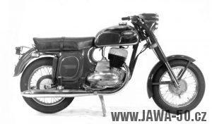Motocykl Jawa 250 typ 592