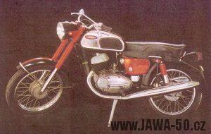 Motocykl Jawa 350 typ 362 Californian Oilmaster