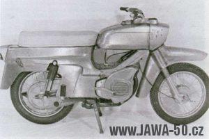 Jeden z prototypů unifikované řady motocyklů Jawa