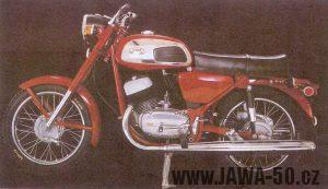 Motocykl Jawa 350 typ 634