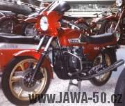 Motocykl Jawa 420 typ 824 boxer z roku 1984