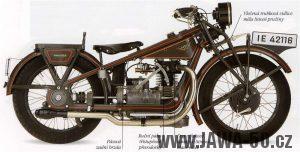 Motocykl Wanderer 500 OHV z roku 1928