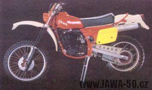 Terénní motocykl Jawa 250 typ 652-6-86