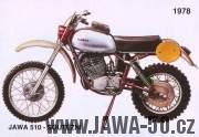 Jawa 510 pro šestidenní