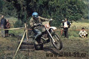 Jawa motocross - Květoslav Mašita (1976)