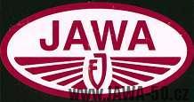 První oficiální Jawa logo