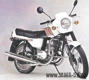 Jawa 350 typ 639 z roku 1990