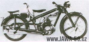 Motocykl Jawa 175 (Villiers) s dvojitým řízením