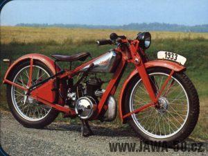 Motocykl Jawa 175 Villiers - standard