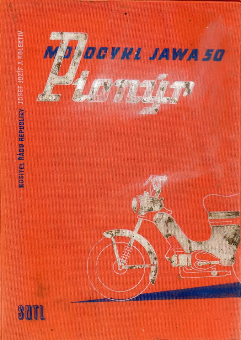 Kniha Motocykl Jawa 50 Pionýr od Josefa Jozífa (1959)